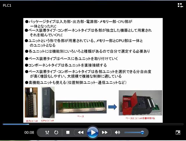 PLCの内部や構成ユニットについて解説