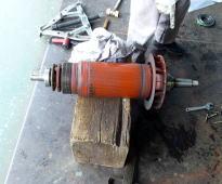 電機子巻線の修理