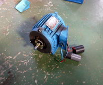 単相誘導電動機の修理