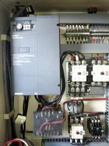 インバーターを使った機械の電気改造